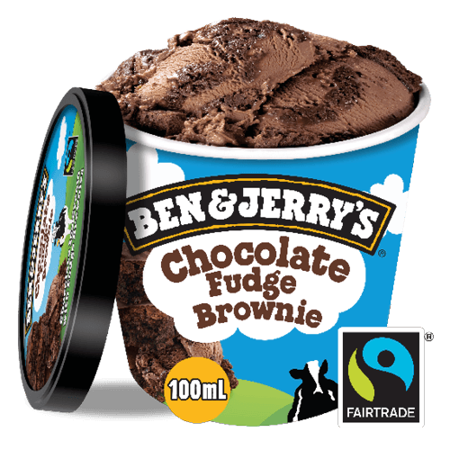 Foto Ben & Jerry's Chocolate Fudge Brownie 100ml