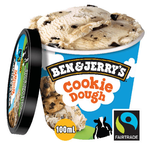 Foto Ben & Jerry's Cookie Dough 100ml